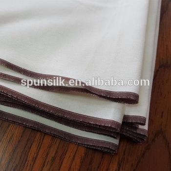 18m m 100% High Quality Spun Silk 8 Pound Boski Fabric . 04926c466