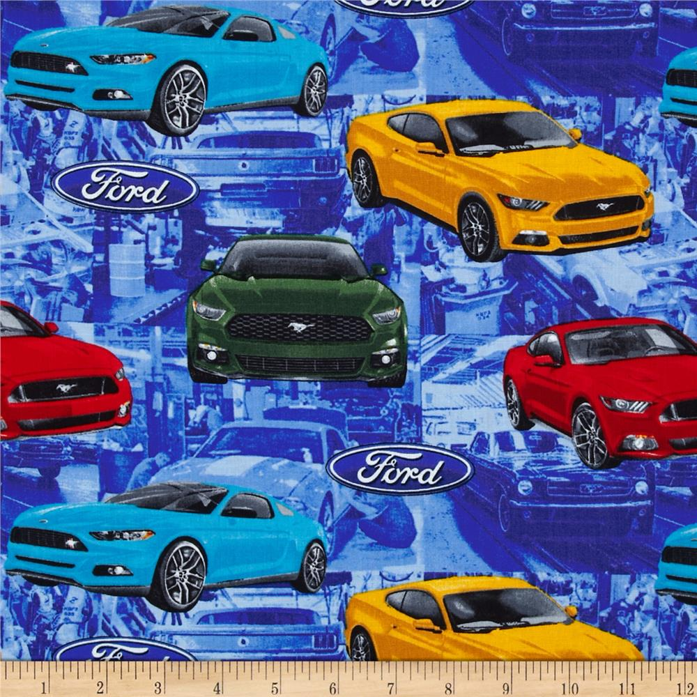 Ford fleece fabric