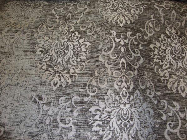 Black Chenille Fabric