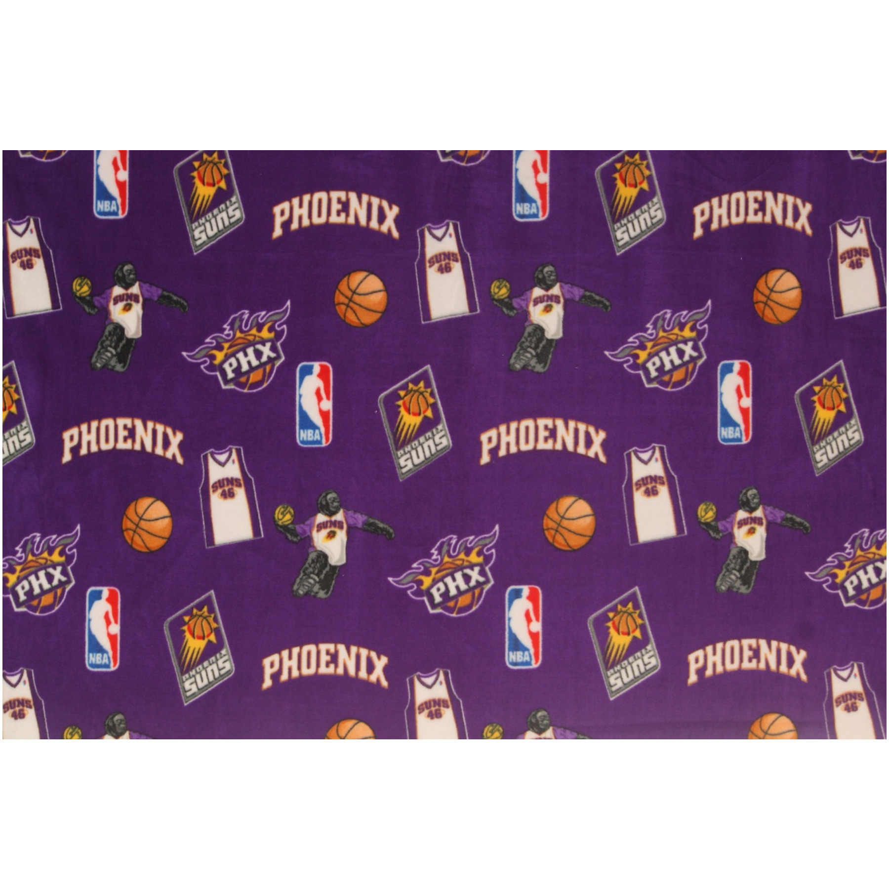 Phoenix Suns Fleece Fabric