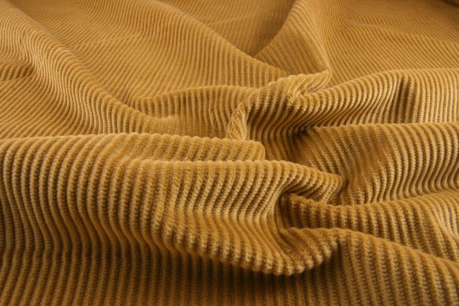 Mustard Cotton Corduroy Fabric Sewing Fabrics