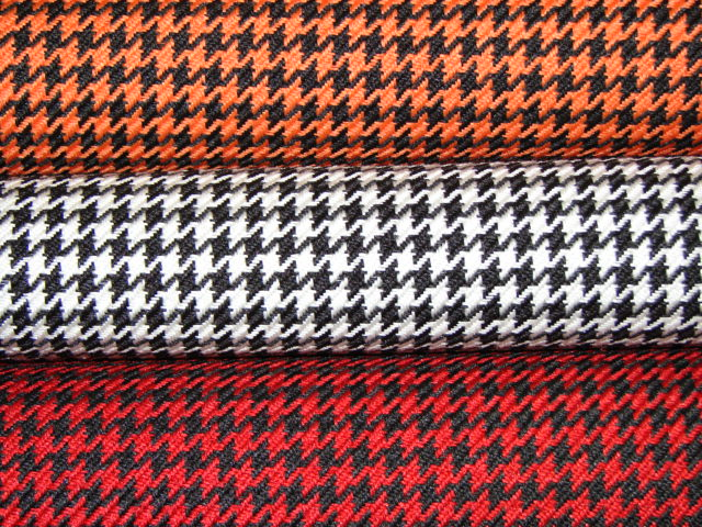 Houndstooth Auto Upholstery Fabric