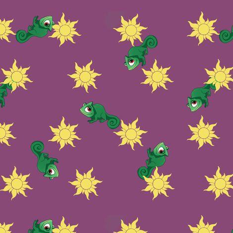 Rapunzel Fabric
