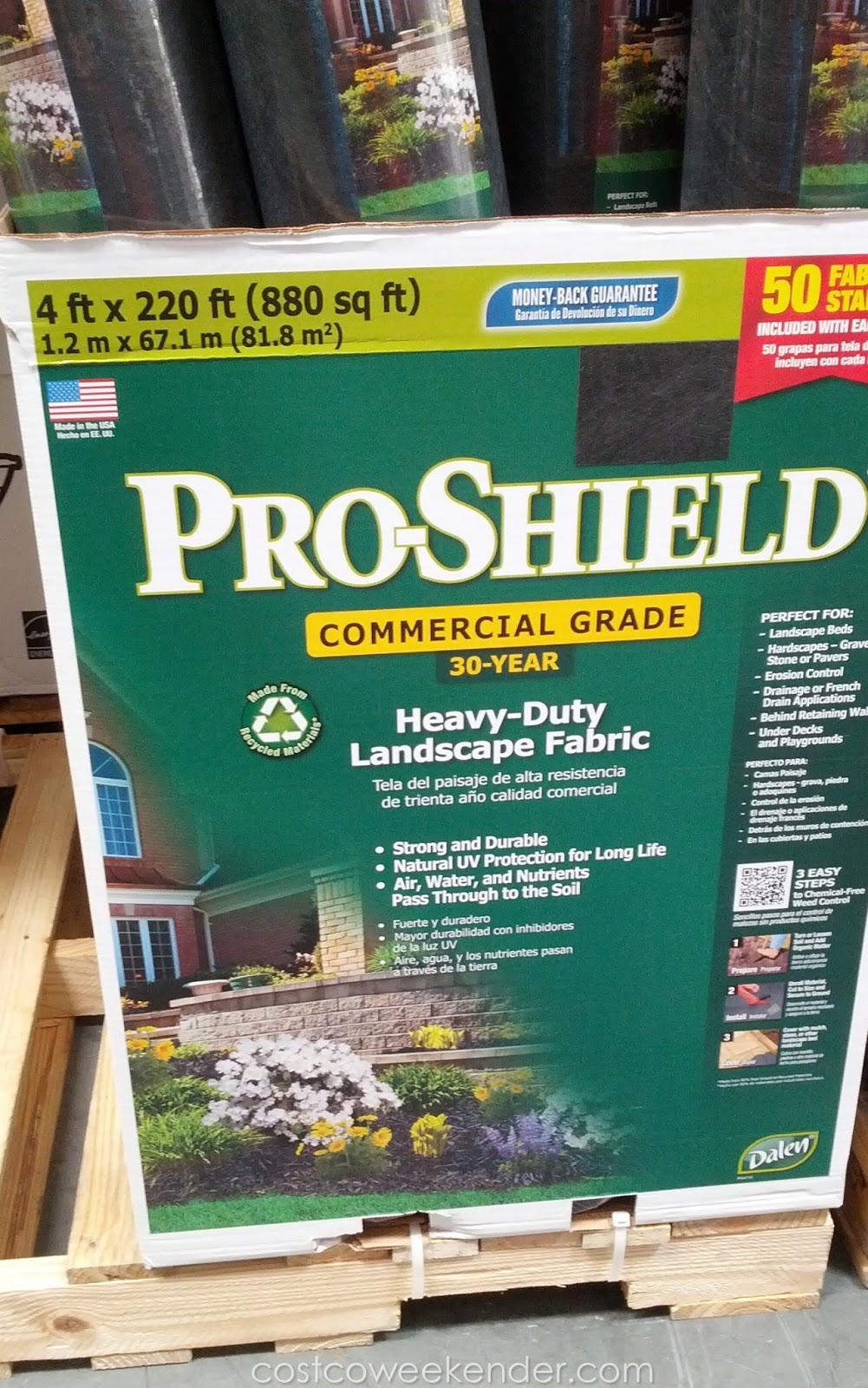 /(4 Wide/) 220 Pro Shield Commercial Heavy Duty Landscape Errosion Control  Weed Barrier Fabric - 4 Wide/) 220 Pro Shield Commercial Heavy Duty Landscape Errosion