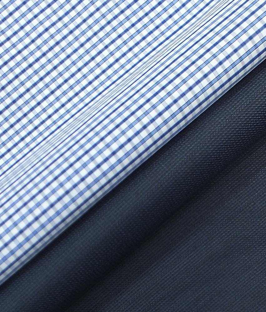 bd0b8f653 Premium Combo of Unstitched Raymond Self Trouser and Pure .