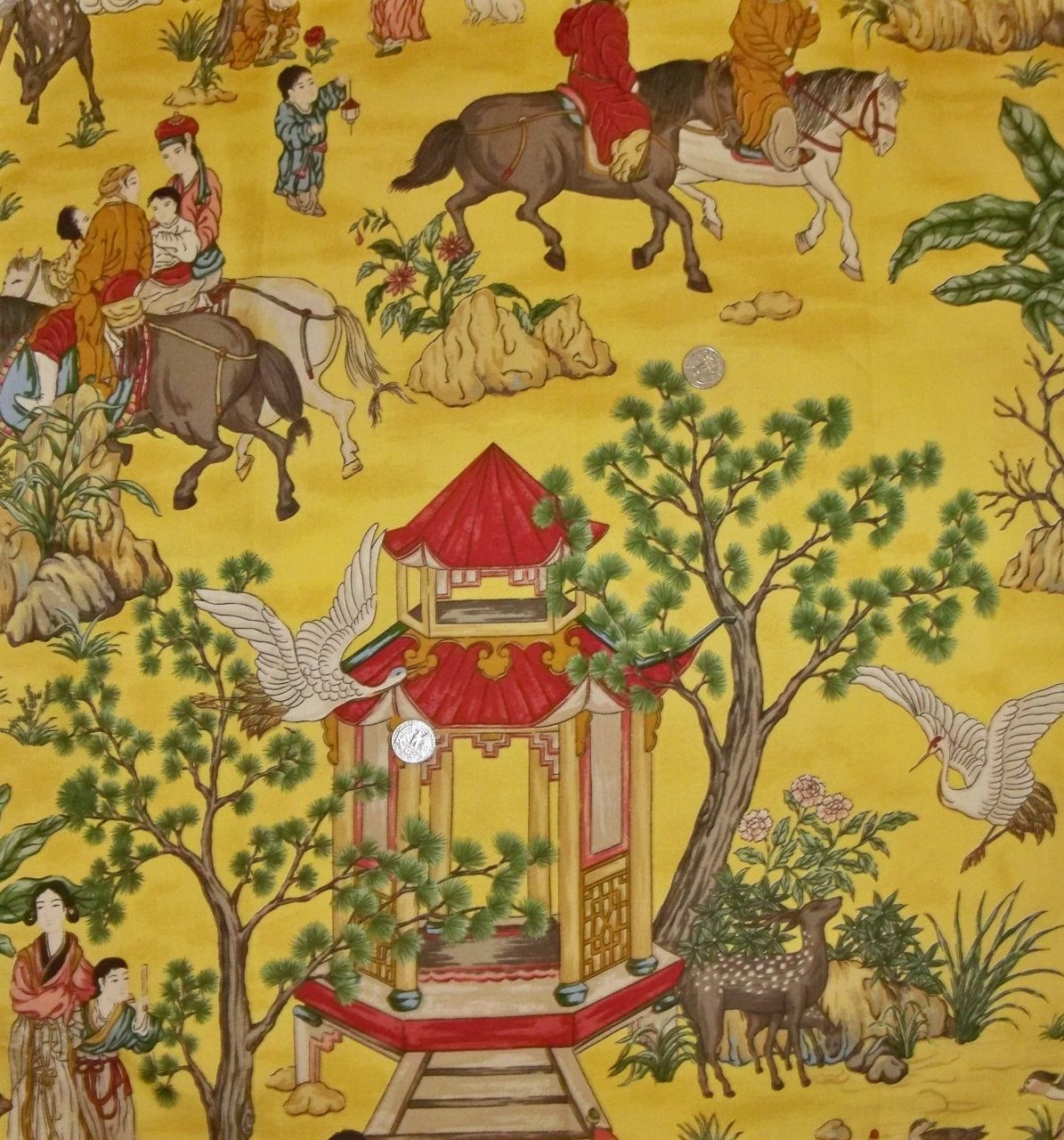 Pagoda Fabric