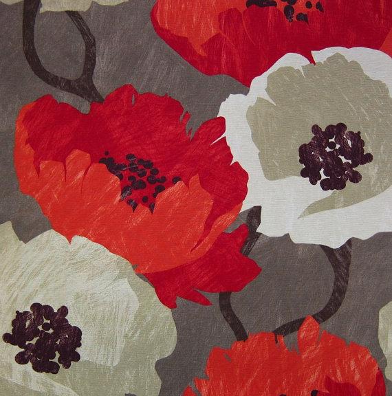 Modern Floral Fabric